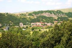 Πόλη Jermuk στοκ εικόνες