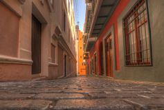 πόλη Juan παλαιό SAN Στοκ Εικόνα