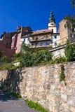 πόλη klodzka bystrzyca Στοκ εικόνα με δικαίωμα ελεύθερης χρήσης