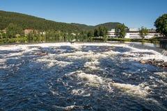 Πόλη Kongsberg, Νορβηγία στοκ φωτογραφίες