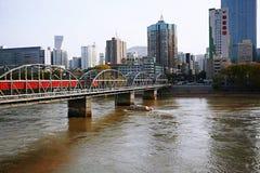 Πόλη Lanzhou στοκ εικόνα