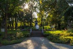 Πόλη Maxplatz Amberg στοκ εικόνα με δικαίωμα ελεύθερης χρήσης