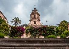Πόλη Modica, Σικελία, Ιταλία Στοκ εικόνα με δικαίωμα ελεύθερης χρήσης