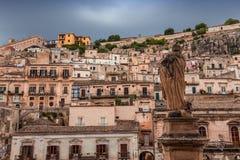 Πόλη Modica, Σικελία, Ιταλία Στοκ εικόνες με δικαίωμα ελεύθερης χρήσης