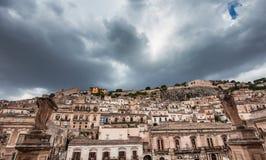Πόλη Modica, Σικελία, Ιταλία Στοκ Εικόνες