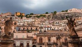 Πόλη Modica, Σικελία, Ιταλία Στοκ φωτογραφία με δικαίωμα ελεύθερης χρήσης