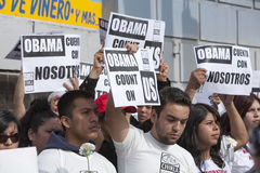 πόλη obama αιθουσών Στοκ Εικόνες