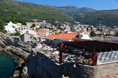 Πόλη Petrovac, Μαυροβούνιο, Ευρώπη στοκ εικόνα