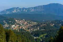 Πόλη Predeal, μια περιπέτεια κάθε εποχή, θέρετρο βουνών κοντά σε Brasov, Τρανσυλβανία, Ρουμανία στοκ φωτογραφίες
