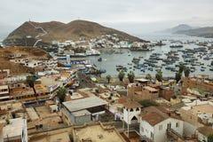 Πόλη Pucusana, Περού Στοκ φωτογραφία με δικαίωμα ελεύθερης χρήσης