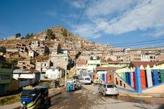 Πόλη Puno στοκ εικόνα