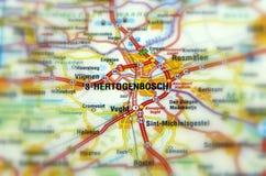 Πόλη ` s-Hertogenbosch/κρησφύγετο Bosch - Κάτω Χώρες στοκ εικόνες με δικαίωμα ελεύθερης χρήσης