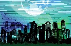 πόλη scape ελεύθερη απεικόνιση δικαιώματος