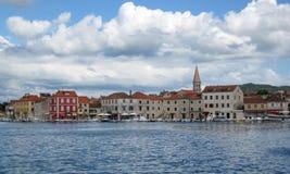 Πόλη Starigrad στοκ εικόνα