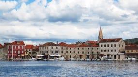 Πόλη Starigrad στοκ εικόνες με δικαίωμα ελεύθερης χρήσης