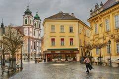 Πόλη Székesfehérvà ¡ ρ, Ουγγαρία στοκ φωτογραφία