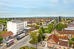 Πόλη Temerin στη Σερβία Ευρώπη, 26 4 2017 Στοκ Εικόνες