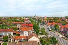 Πόλη Temerin στη Σερβία Ευρώπη 26 4 2017 Στοκ φωτογραφία με δικαίωμα ελεύθερης χρήσης