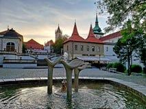 Πόλη Teplice στα τσέχικα Στοκ Εικόνες