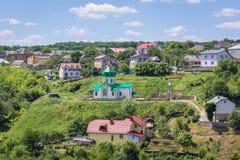 Πόλη Terebovlia στην Ουκρανία Στοκ εικόνα με δικαίωμα ελεύθερης χρήσης