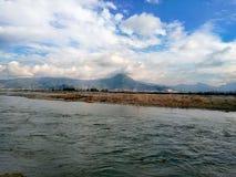Πόλη Thana ποταμών swat στοκ φωτογραφίες