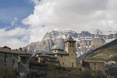 Πόλη Torla, Ordesa και Monte Perdido του εθνικού πάρκου στοκ φωτογραφία με δικαίωμα ελεύθερης χρήσης