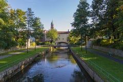 Πόλη Vils Amberg στοκ εικόνα
