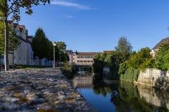 Πόλη Vils Amberg στοκ εικόνες