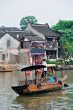 Πόλη Zhujiajiao στη Σαγγάη Στοκ Φωτογραφίες