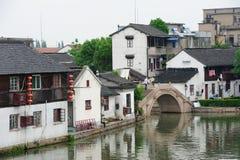 Πόλη Zhujiajiao στη Σαγγάη Στοκ φωτογραφίες με δικαίωμα ελεύθερης χρήσης