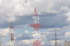 Πόλοι ηλεκτρικής ενέργειας στοκ φωτογραφία με δικαίωμα ελεύθερης χρήσης