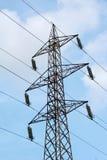 Πόλος ηλεκτρικής ενέργειας στοκ φωτογραφίες με δικαίωμα ελεύθερης χρήσης