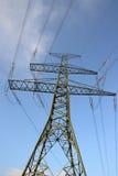πόλος ηλεκτρικής ενέργε&i Στοκ φωτογραφία με δικαίωμα ελεύθερης χρήσης