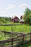 πόλος φραγών ξύλινος Στοκ εικόνα με δικαίωμα ελεύθερης χρήσης