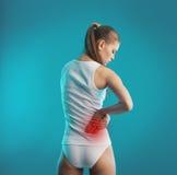 Πόνος αγκώνων στοκ εικόνες με δικαίωμα ελεύθερης χρήσης
