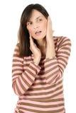 πόνος αυτιών Στοκ εικόνα με δικαίωμα ελεύθερης χρήσης