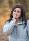 πόνος λαιμών στοκ φωτογραφίες με δικαίωμα ελεύθερης χρήσης