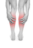 Πόνος στα πόδια Στοκ φωτογραφία με δικαίωμα ελεύθερης χρήσης
