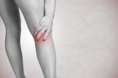 Πόνος στο πόδι Στοκ Φωτογραφία