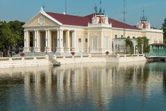Πόνος Royal Palace κτυπήματος σε Ayutthaya, Ταϊλάνδη - επίσης γνωστή ως θερινό παλάτι Στοκ εικόνες με δικαίωμα ελεύθερης χρήσης