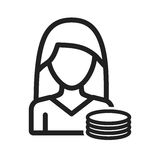 Πόροι χρηματοδότησης γυναικών Στοκ Εικόνες