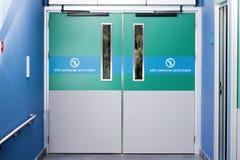 Πόρτα έκτακτης ανάγκης στοκ εικόνες με δικαίωμα ελεύθερης χρήσης