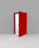 πόρτα ανοικτή διανυσματική απεικόνιση
