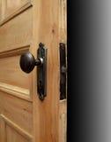 πόρτα ανοικτή Στοκ Εικόνα