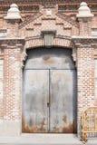 πόρτα βιομηχανική Στοκ Φωτογραφία