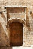 πόρτα Γαλλία μεσαιωνική Στοκ Εικόνες