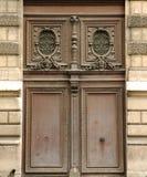 πόρτα Γαλλία ξύλινη Στοκ Φωτογραφία