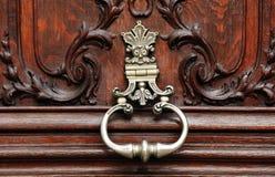 πόρτα Γαλλία Παρίσι ξύλινο Στοκ εικόνα με δικαίωμα ελεύθερης χρήσης
