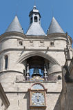 πόρτα Γαλλία του Μπορντώ cloche gros Στοκ φωτογραφία με δικαίωμα ελεύθερης χρήσης