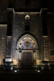 πόρτα γοτθική Στοκ φωτογραφία με δικαίωμα ελεύθερης χρήσης